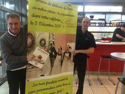 Les stars de la pâtisserie en présentation à la cafétéria Carré Rouge de Villefontaine