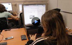 Quand les usagers sont sensibilisés aux risques d'internet (vidéo)