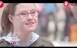 Une jeune actrice trisomique grenobloise sur TF1
