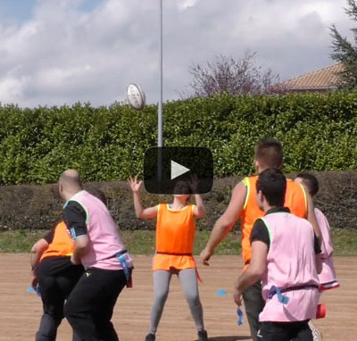 Rugby et Handicap pour l'ESAT Isatis à St George