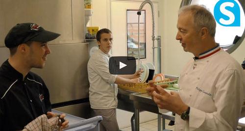 """Quand un chef étoilé est """"subjugué"""" par une cafétéria avec des travailleurs handicapés"""