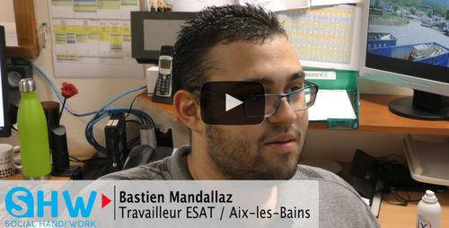 #Portrait de Bastien, travailleur en situation de handicap et embauché en CDI