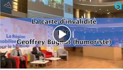 Rions un peu du handicap avec l'humoriste Geoffrey #Bugnot