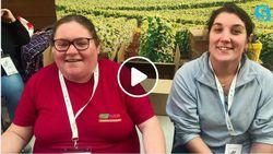 Amandine et Sandrine nous expliquent la fabrication de la Bière Metallo de l'ESAT La Bell de Loing